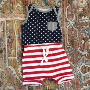 Old Navy 4th of July Baby Outfit